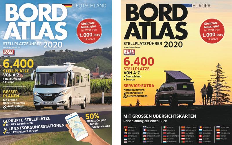 Bord Atlas 2020 – Stání pro karavany v Evropě