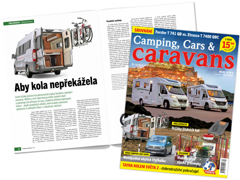 Camping, Cars & Caravans 4-2020