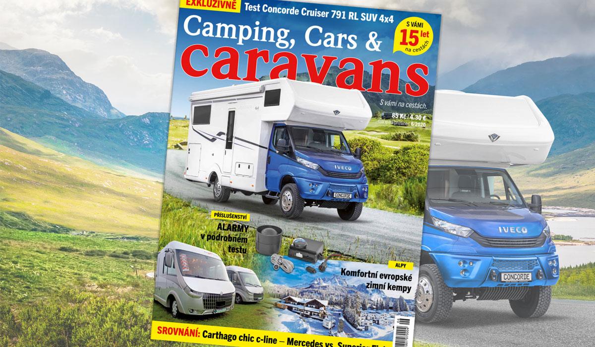 Camping, Cars & Caravans 6/2020 (listopad/prosinec)