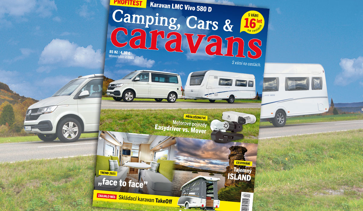 Camping, Cars & Caravans 2/2021 (březen/duben)