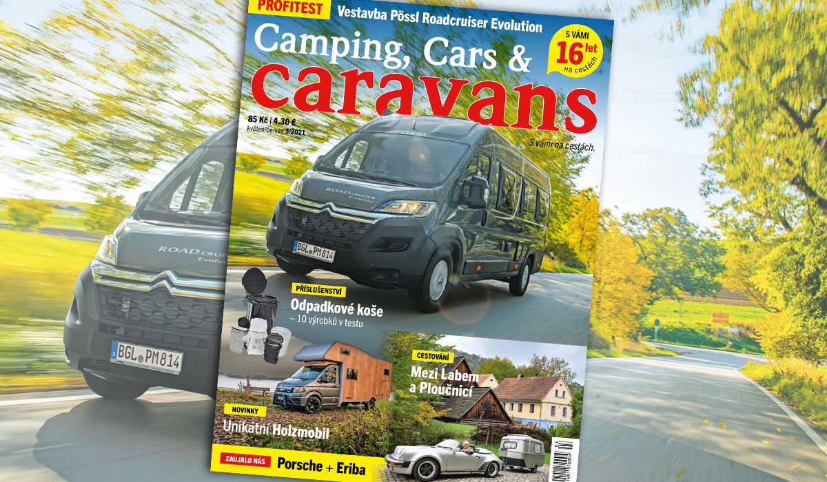 Camping, Cars & Caravans 3/2021 (květen/červen)