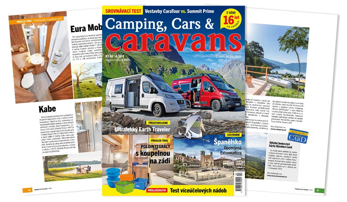 Camping, Cars & Caravans 4/2021 (červenec/srpen)